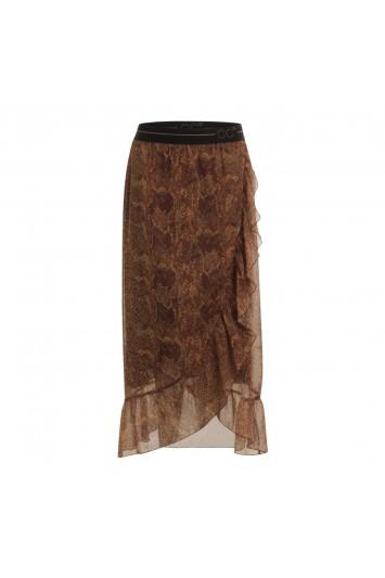 Coster Copenhagen Skirt w. pyton Nomade pyton