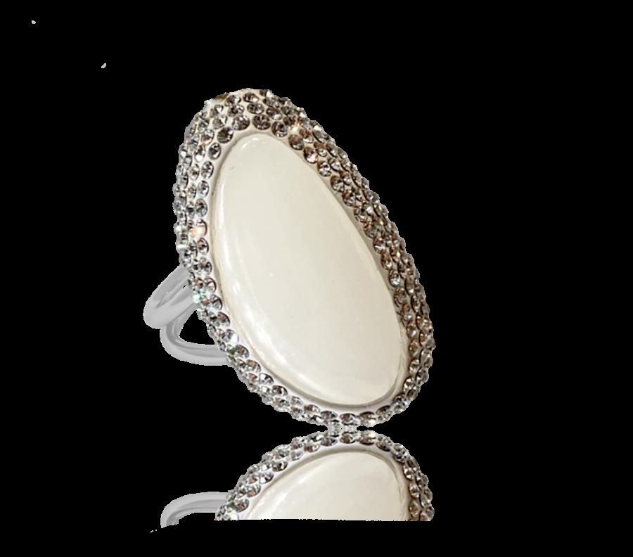 IOAKU-ring-goldmine-silver-white