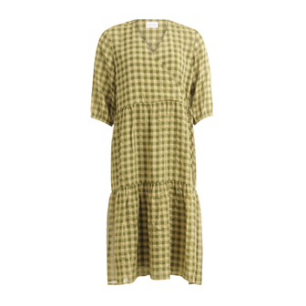 204-5463_Forest Green Check – 419_Front